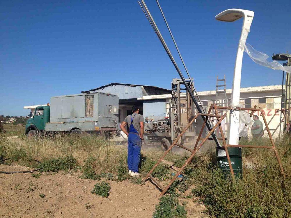Μαραθώνας - Γεώτρηση νερού