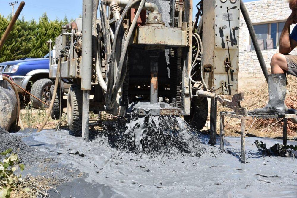 Μαρούσι - Γεώτρηση νερού
