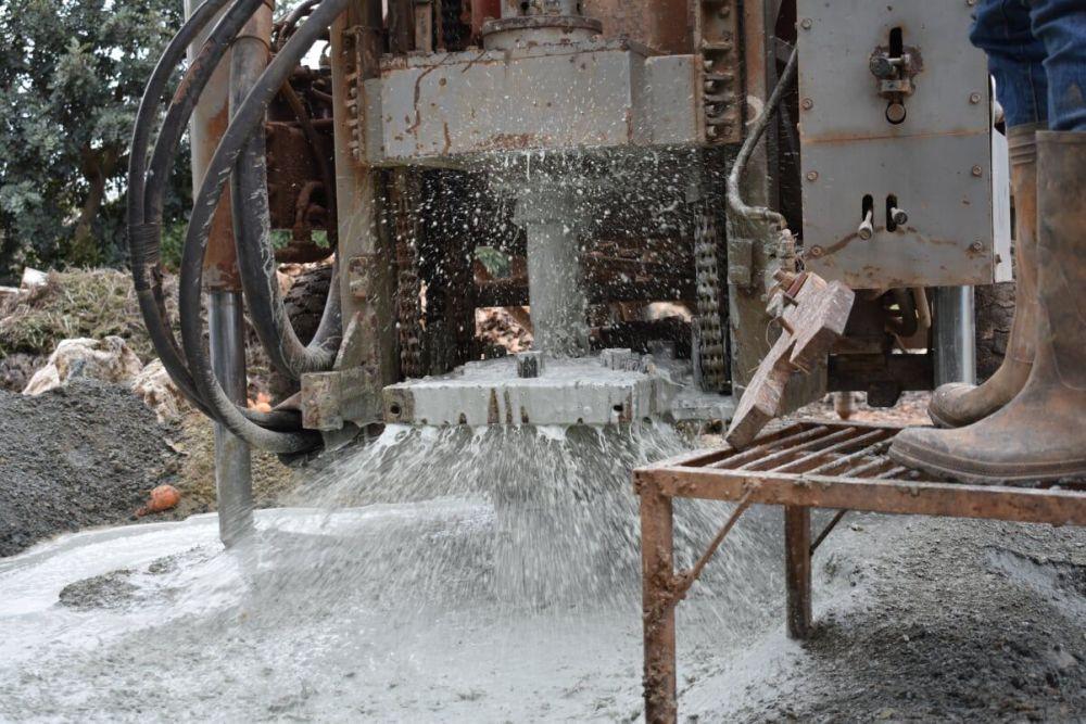 Νέα Μάκρη - Γεώτρηση νερού