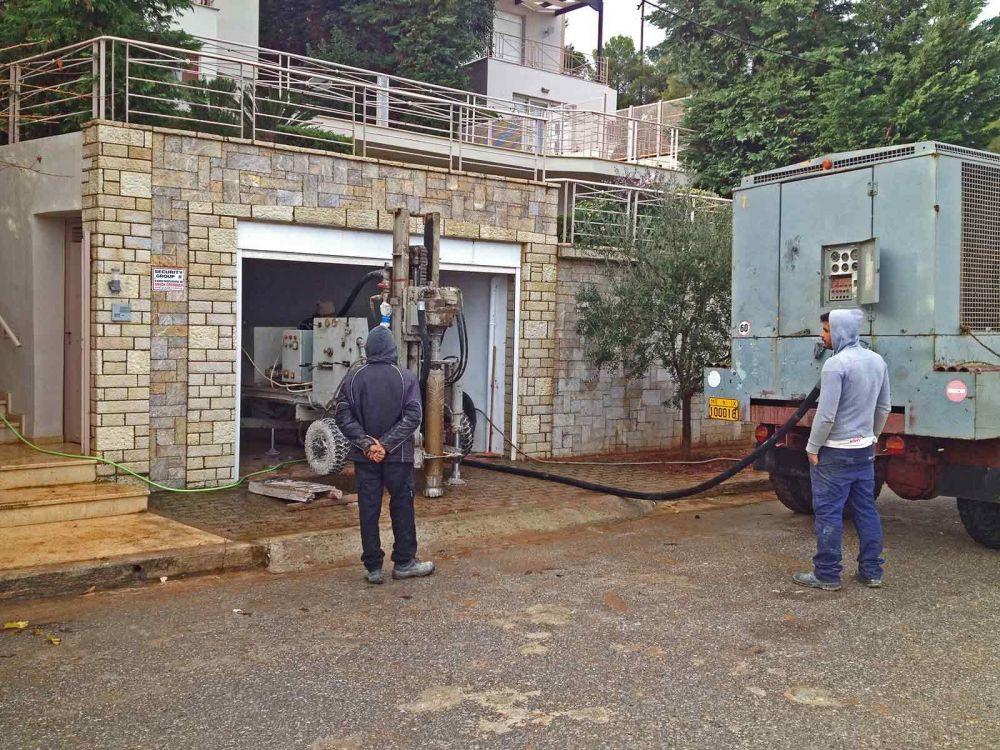 Παπάγου - Γεώτρηση νερού