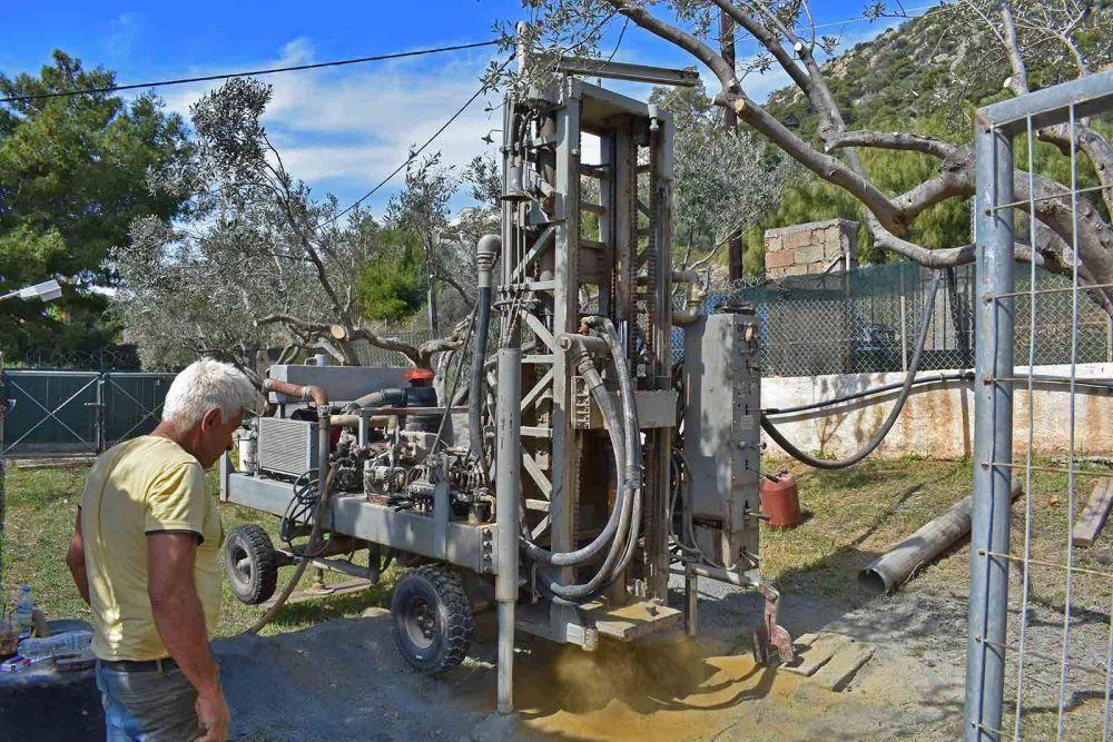 Πόρτο Ράφτη - Γεώτρηση νερού
