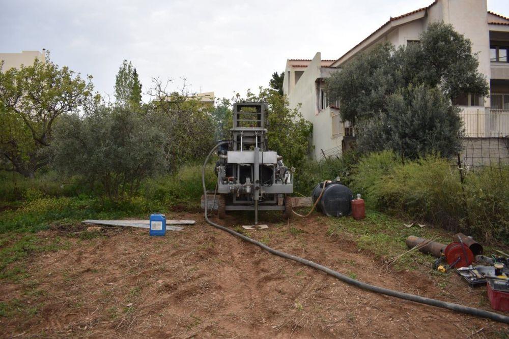 Βριλήσσια - Γεώτρηση νερού